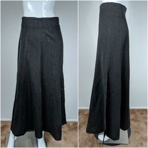 VTG French Connection Size M Gray A Line Skirt